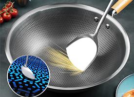 神田商品紹介抗接着性ステンレス鍋の皇甫の葉シリーズが発売されました